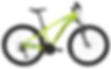 VTT Pop'Bike Jaune