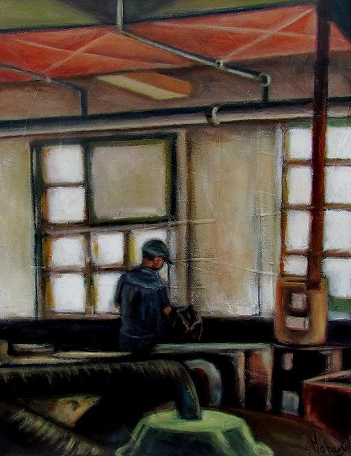 La manufacture par l'artiste peintre Johanne Maheux
