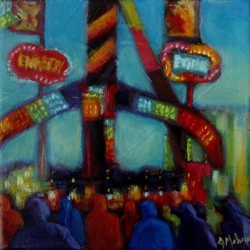 beauce carnaval par l'artiste peintre Johanne Maheux