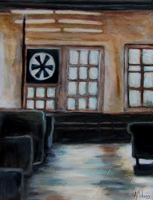 La manufacture de l'artiste peintre Johanne Maheux