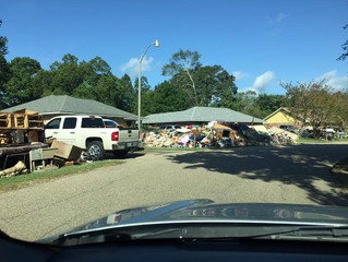 Denham Springs is devastated