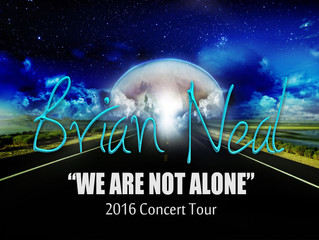 """The 2016 """"We Are Not Alone"""" Tour"""