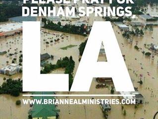 Please Pray for Denham Springs, LA