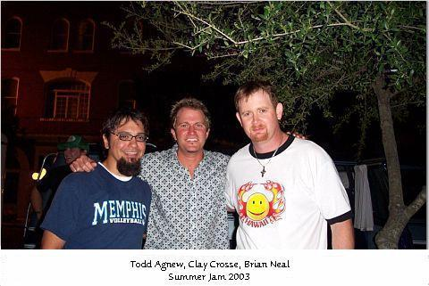 TODD AGNEW & CLAY CROSSE