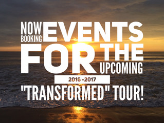 NOW BOOKING EVENTS FOR THE NEW TOUR & NEW ALBUM COMING!