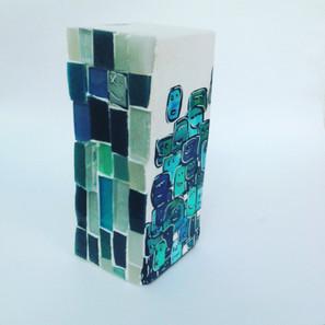 Les Petits cubiques sculpture
