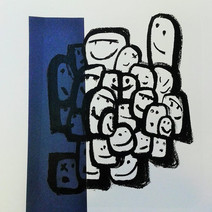 Lithographie Les Petits Cubiques