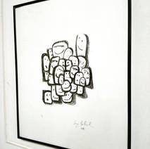 Lithographie Petits Cubiques
