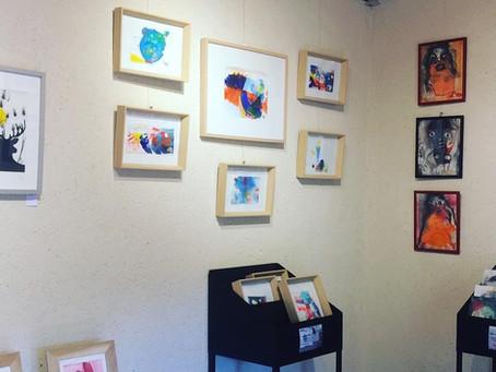 Installation de la Collection MAJ à la galerie de Rablay sur layon !