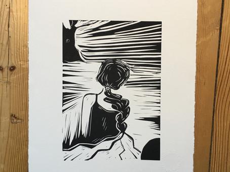Linogravures en vente sur TERRES D'ARTISANS