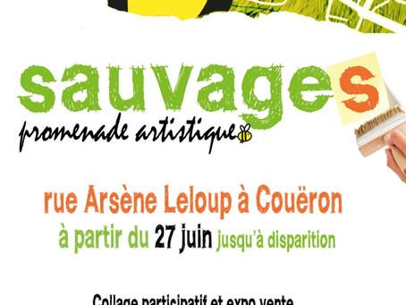 Exposition de collages SAUVAGES à Couëron !