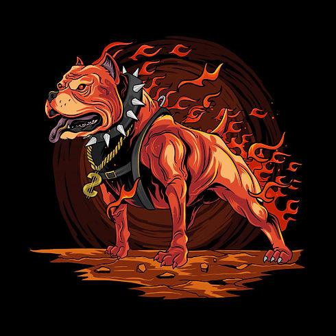 dog-fire-pitbull-from-hell-artwork_67811