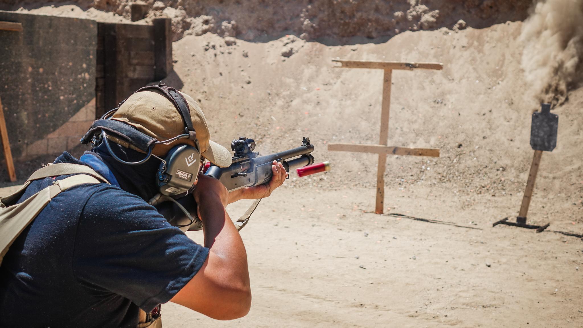 Shot Gun Shooting