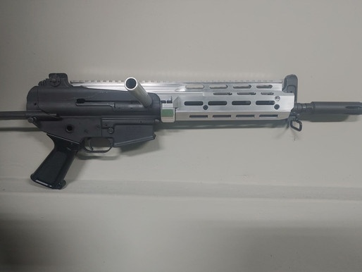 K1A Gun Fighter Rail-military issued