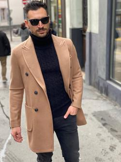 Manteau Camel Imperial Fashion Vicitm Shop