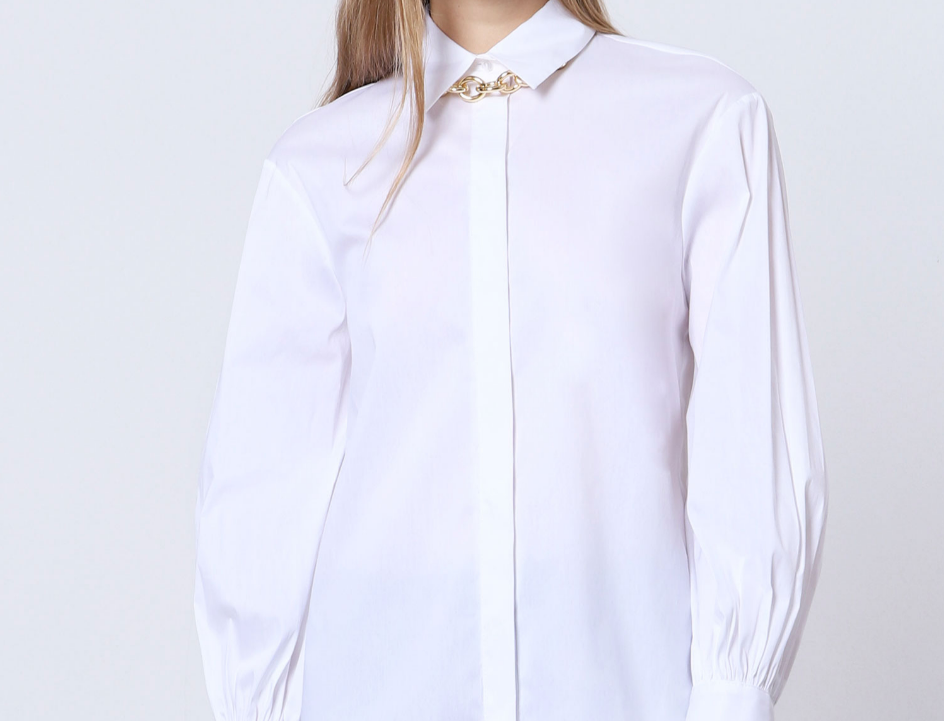 Chemise Oversize Imperial White