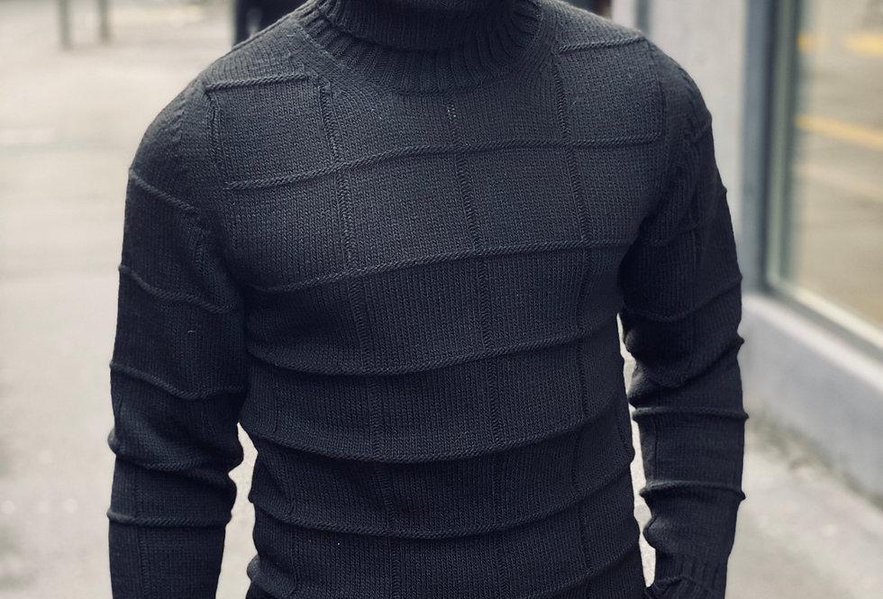 Pull Imperial en laine motif carreaux