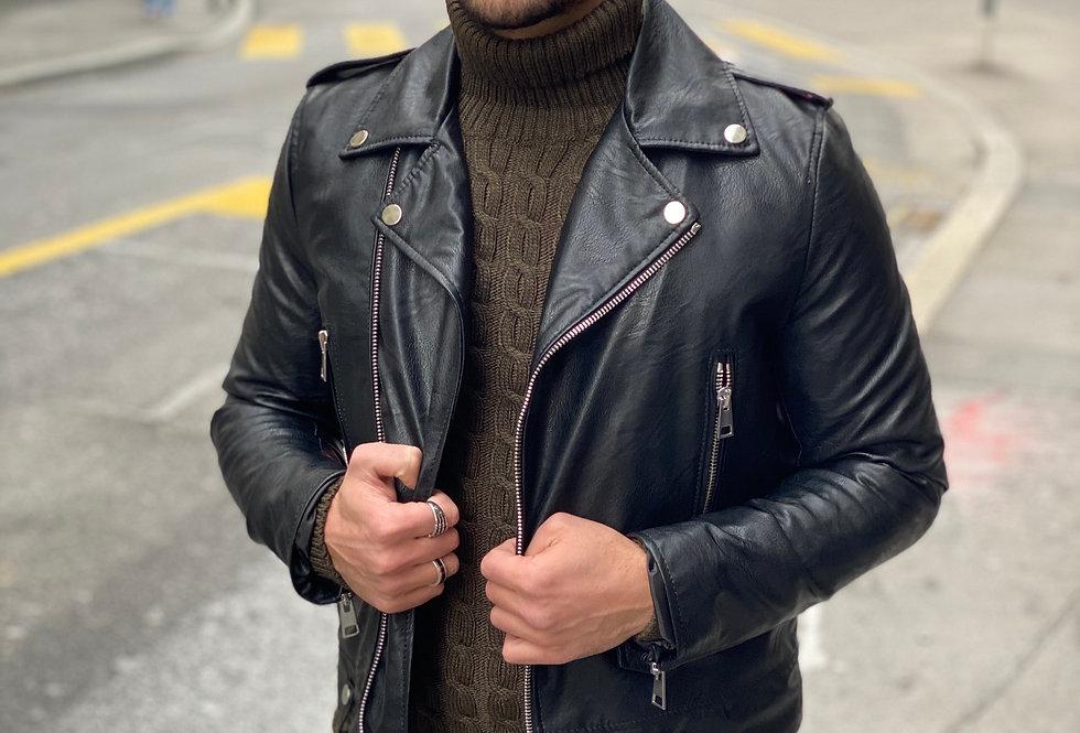 Perfecto simili cuir IMPERIAL Black