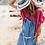 Thumbnail: Salopette en jeans le temps des cerises