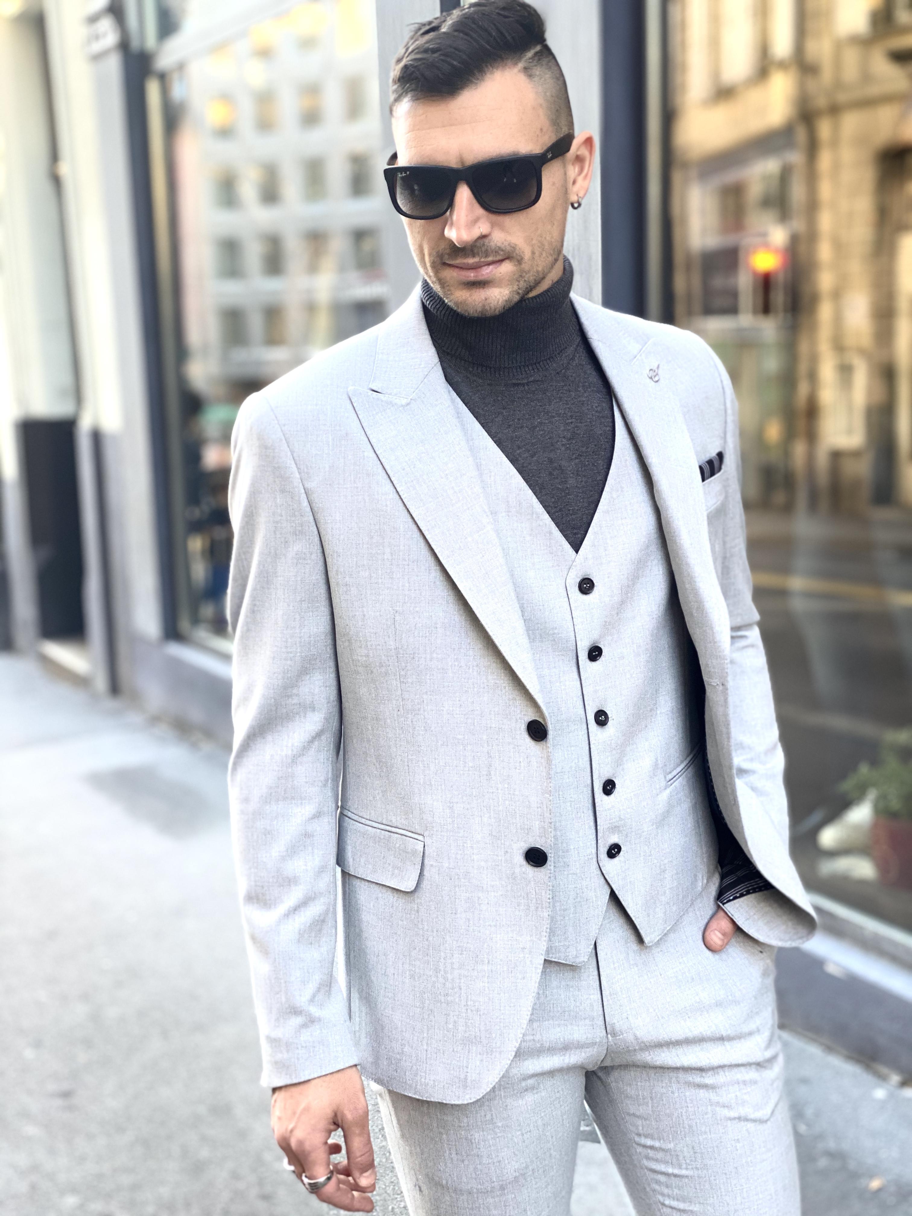 Costume FV gris clair Fashion Vicitm Shop
