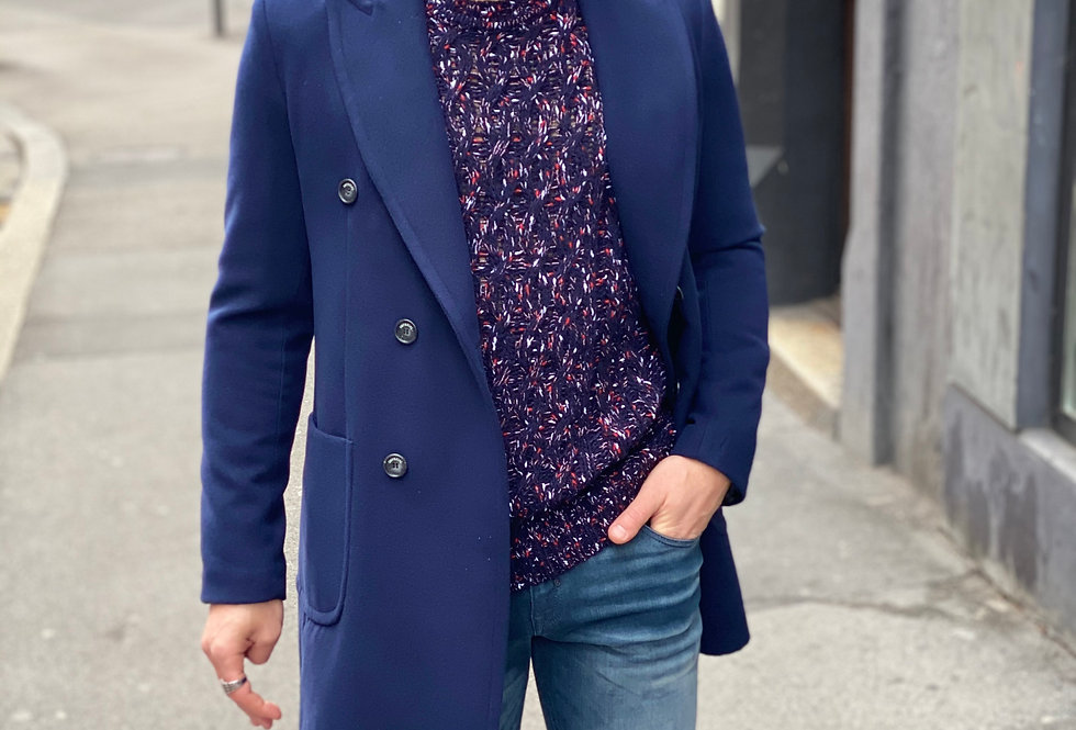 Manteau Imperial Bleu