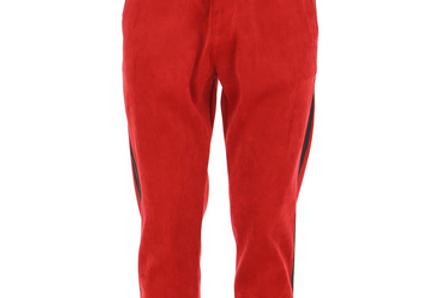 Pantalon rouge velour IMPERIAL