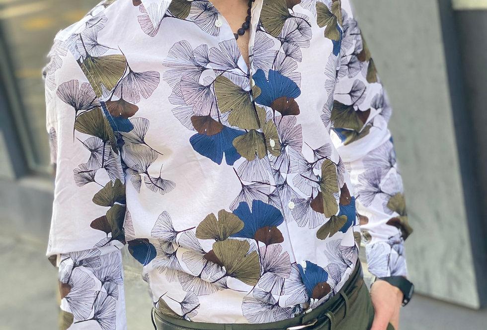 Chemise Antony Morato slim fit Big flowers