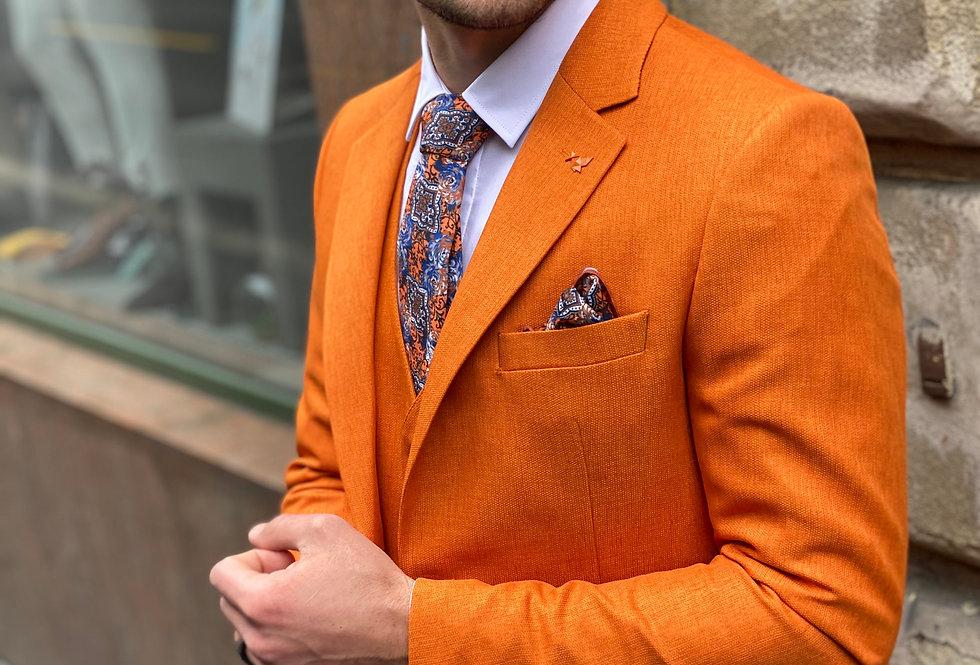Blaser et Gilet orange FV