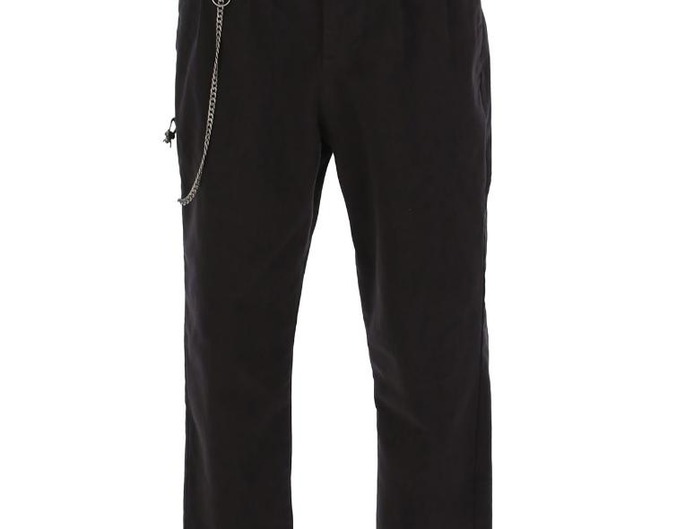 Pantalon Imperial double pince avec chaîne