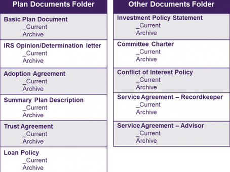 3 Simple Tips to Organize Your Plan Documents