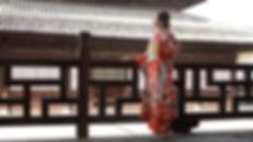 着物,振袖,和服,ロケーション撮影