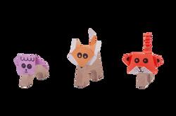 צילום צעצועים - חיות עץ 1