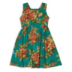 צילום בגדים שמלה טורקיז פרחים