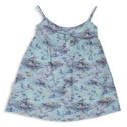 פקשוט בגדים - שמלה תכלת