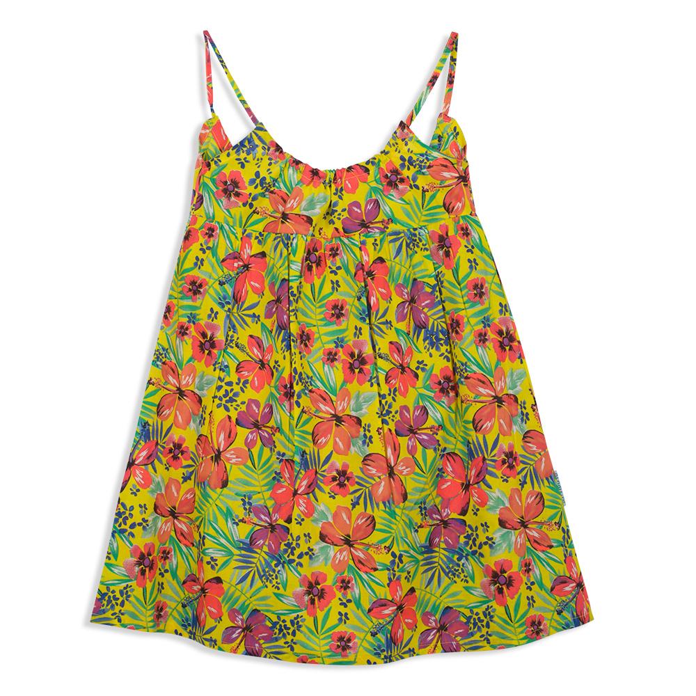 צילום בגדים שמלה פרחונית מקדימה