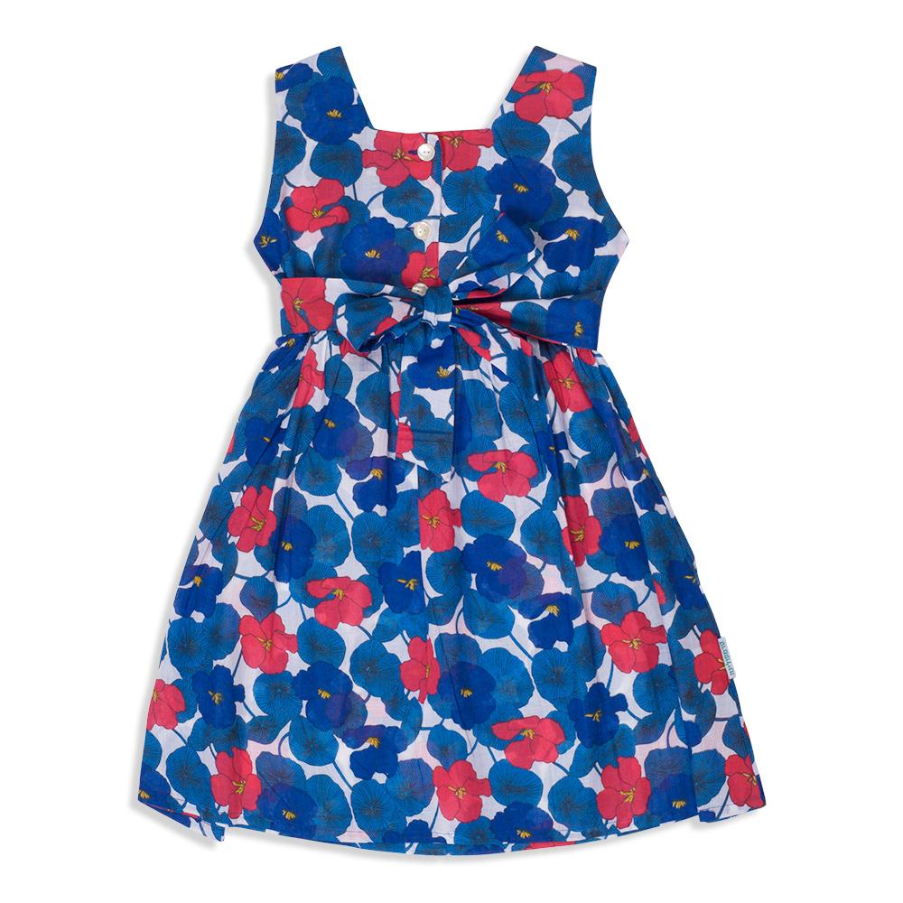 שמלה כחולה לילדים - פקשוט בגדים