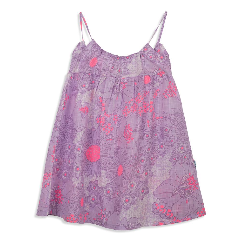 צילום בגדים שמלה סגולה מקדימה
