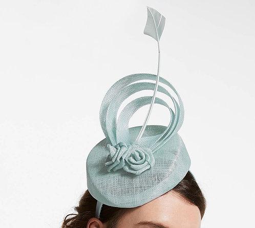 Blue fascinator hat