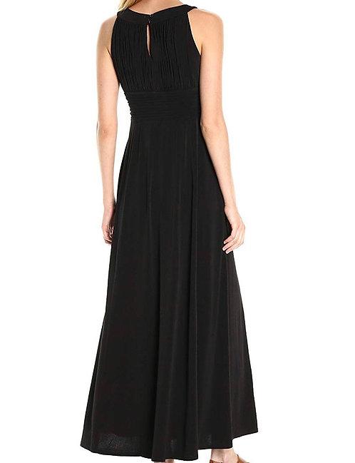 Size 14 Black key hole maxi dress
