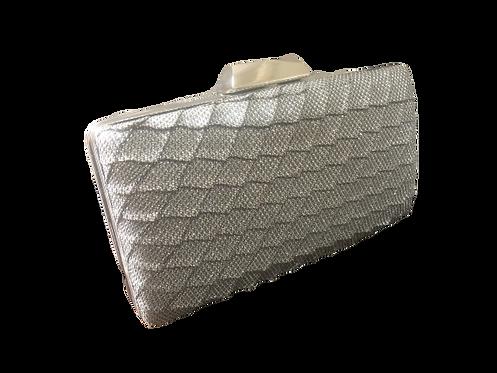 Silver box bag