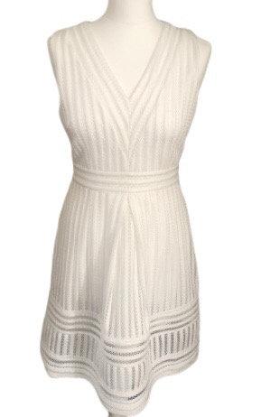 Size 8 White cutwork lace dress