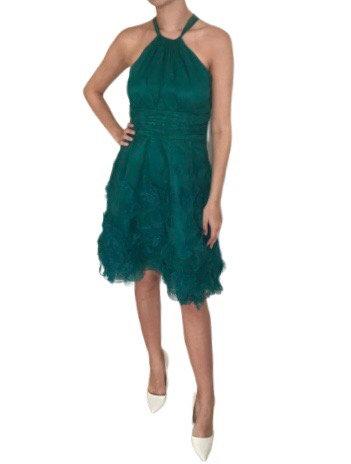 Size 10 Green Taffeta dress