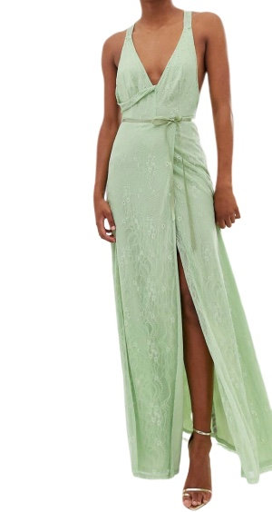 Size 8 Mint Maxi Dress