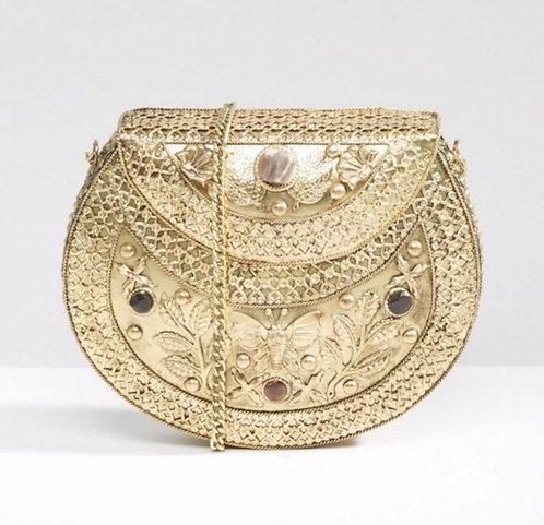 Park Lane Gold metal bag