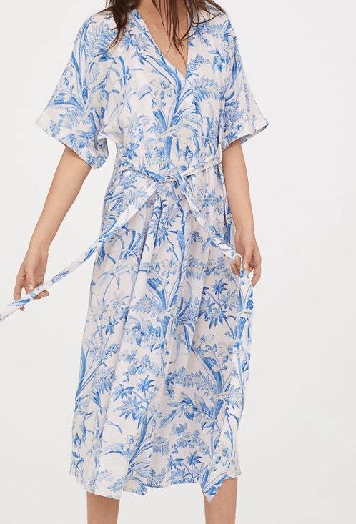 Size 12 Floral Khaftan dress
