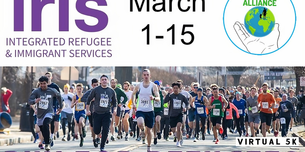 Virtual Run for Refugees