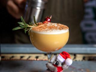 Festivus Flip - A Holiday Cocktail