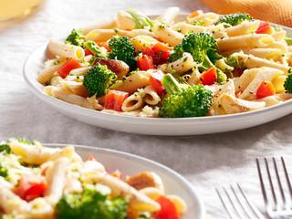 Broccoli Garlic Chickpea Pasta