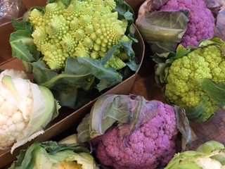 Roasted Romanesco Cauliflower