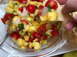 Pineapple & Hot Pepper Salsa
